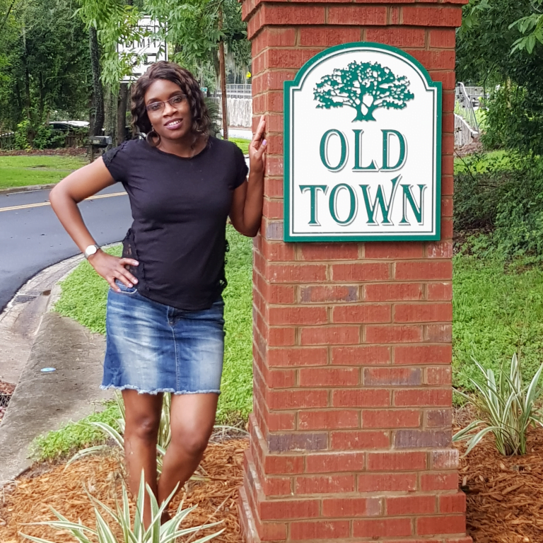 Tallahassee resident, Doreen Kobelo, loves her neighborhood, Old Town, located in Midtown