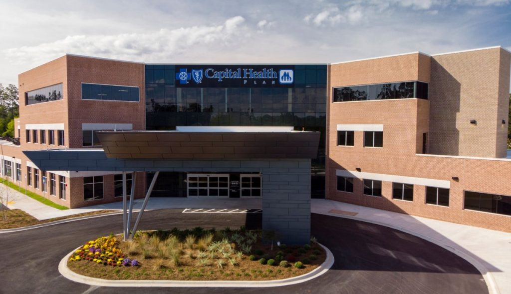 Capital Health Plan Building in Tallahassee, FL