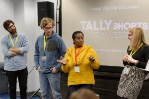 Tally shorts film festival discussion