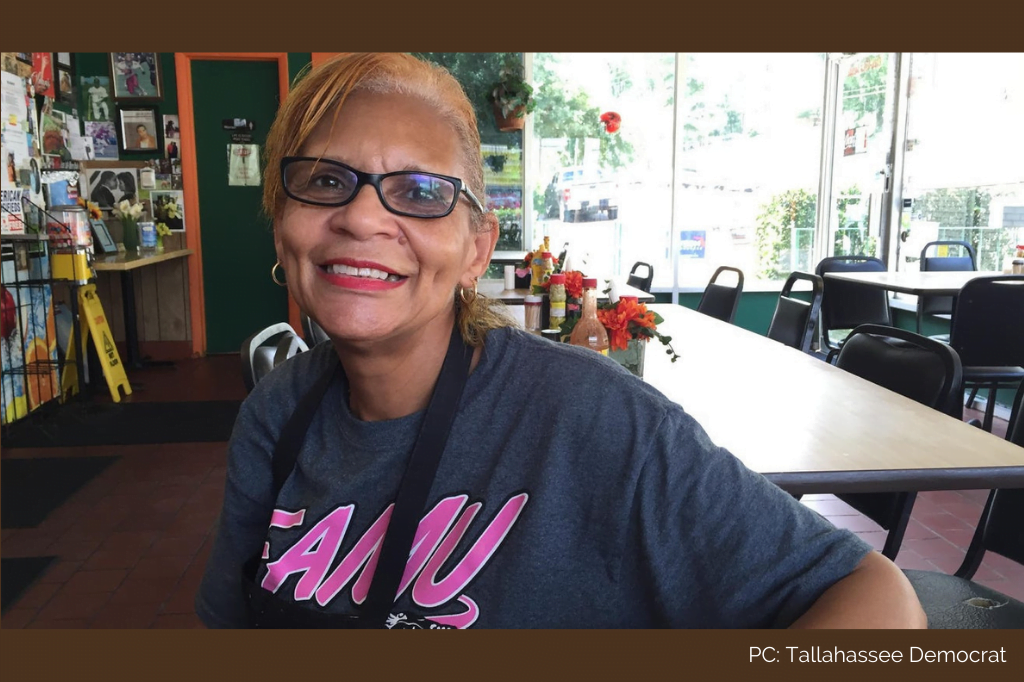 Olean McCaskill, Tallahassee Black history month
