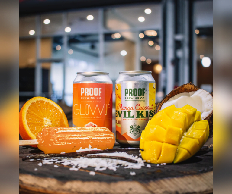 Founded in 2012, Proof Brewing Company prides itself on being an industry leader of innovative beers. Tasting room, beer garden, and production brewery.