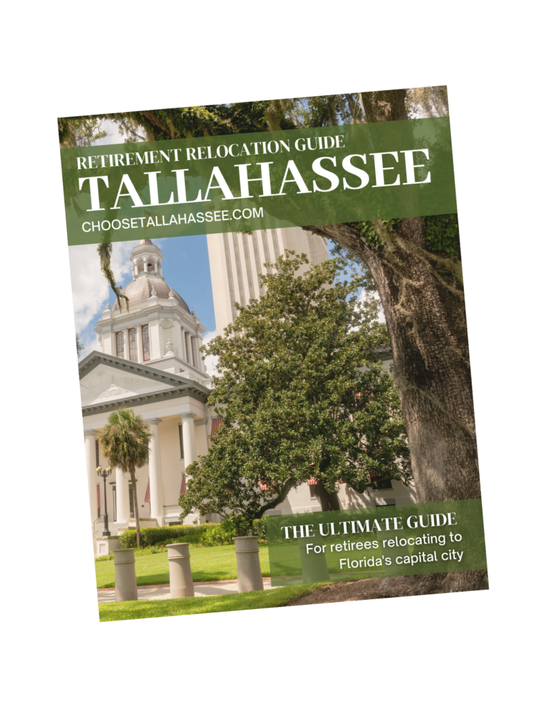 Guide that explains why retirees say Tallahassee is the best Florida retirement city