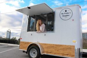 Frother's Daughter mobile coffee truck in Tallahassee