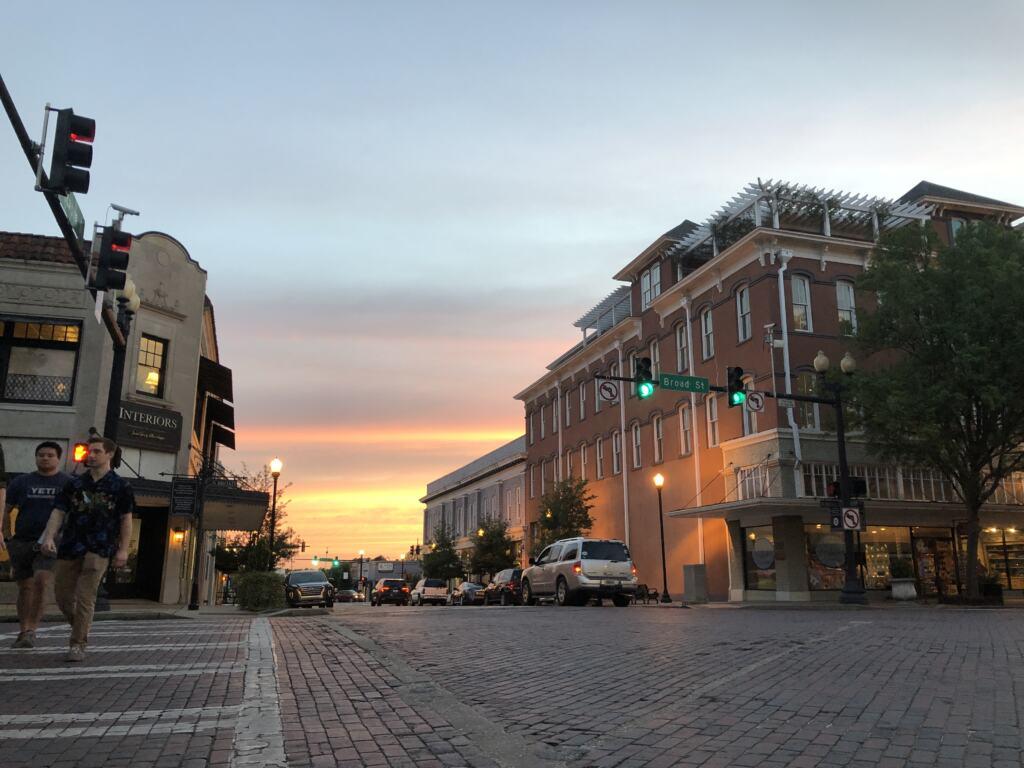Sunset in Thomasville GA