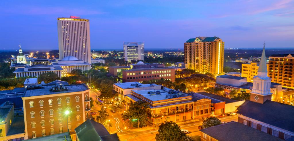 Tallahasee, Florida Skyline
