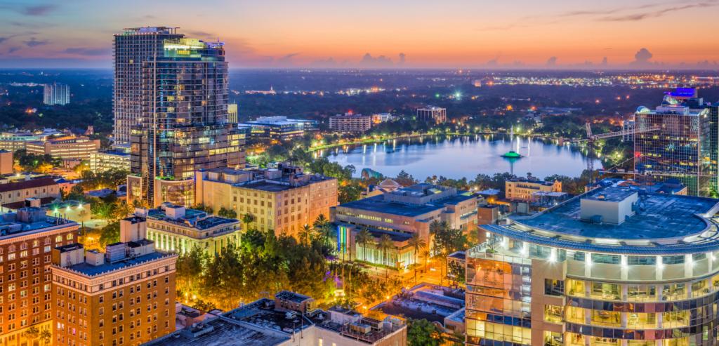 Orlando, Florida downtown
