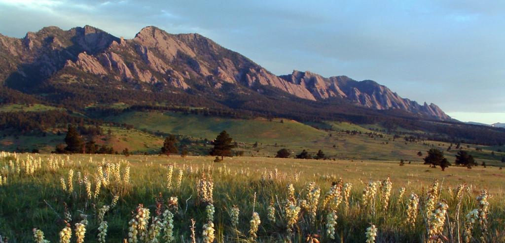 The Mountain Views of Boulder, Colorado
