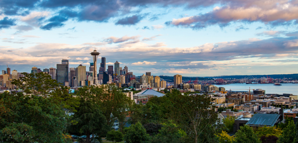 The city of Seattle, Washington