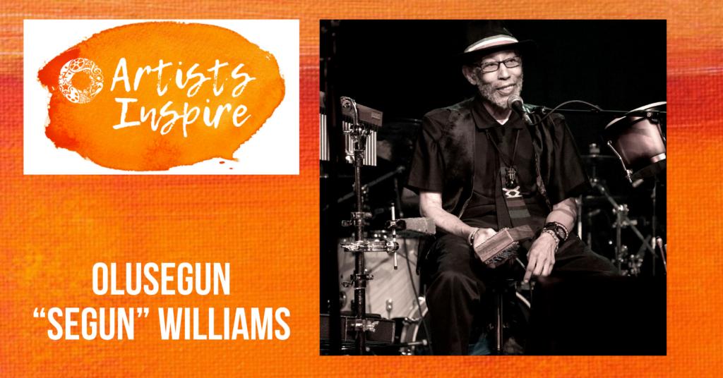 """""""Artists Inspire"""" Olusegun """"Segun"""" Williams of Tallahassee"""