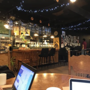 Tallahassee coffee shop - All Saints Cafe in the All Saints District near Collegetown
