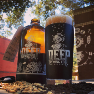 Deep Brewing Co: Explorer, risk-taker, brewer and purveyor of fine ale and lager... Join the Deep Brewing adventure and dive into their next beer!