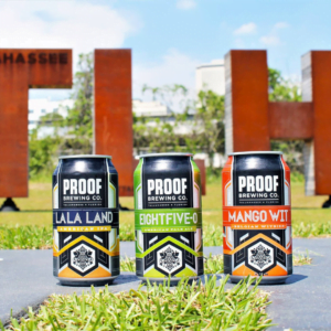 Proof Brewing Co:  was founded in 2012. They pride themselves on being an industry leader of innovative beers. Tasting room, beer garden, and production brewery.