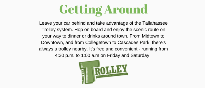 tallahassee fact sheet - residents can take the downtown trolley