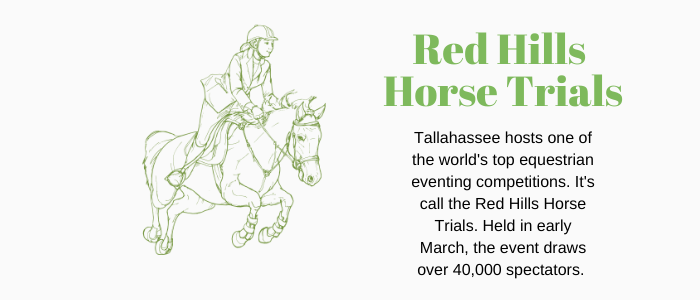 tallahassee fact sheet - red hills horse trials take place here